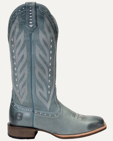 Women's All Around Boots Square Toe Vintage Slate Blue