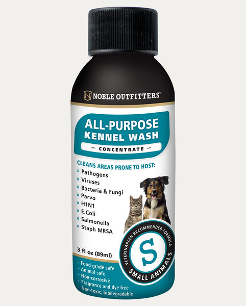 Small Animal Kennel Wash Concentrate - 3oz