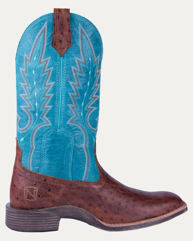 Women's All Around Boots Square Toe Cheyenne - Cognac