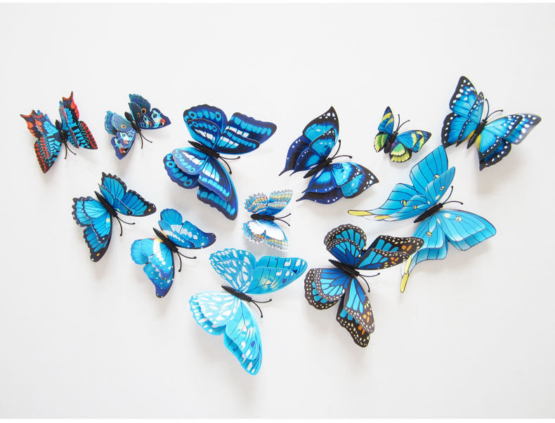 3D Double Layer Butterfly wall décor | Gift Obsession & Co
