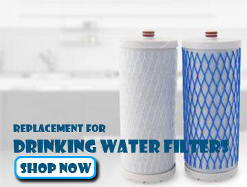 Aquasana Replacement 0.35 Sub-micron Post-Filter for Whole House Water Filter Systems EQ-PFC.35