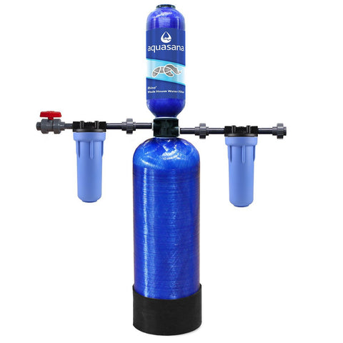 Chloramines Whole House Water Filtration 400,000 gallons