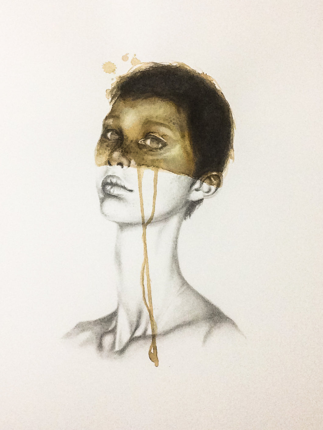 Jeff Mendes - THE SIGHT OF THE GOLD THAT FLOWS ABOVE STAINED SKIN