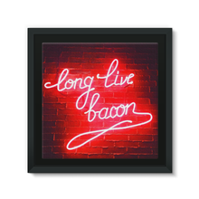 BACON - Framed