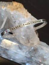 Load image into Gallery viewer, Sterling Silver Custom Cuff Bracelet