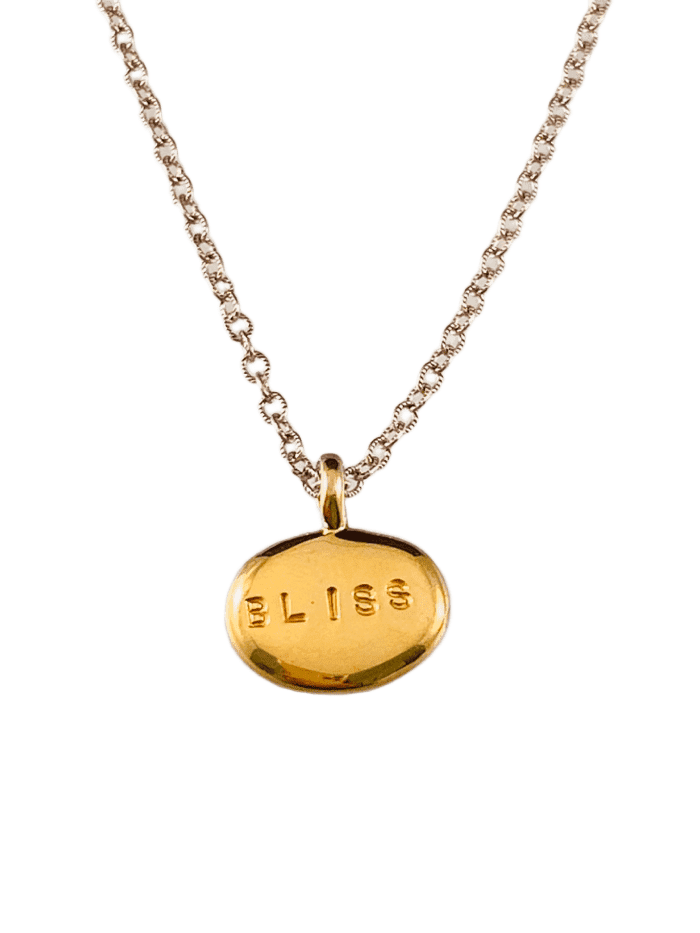 Yellow Gold Vermeil Bliss Nugget Necklace