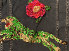 Tiger & Rose Sequin Jean Jacket