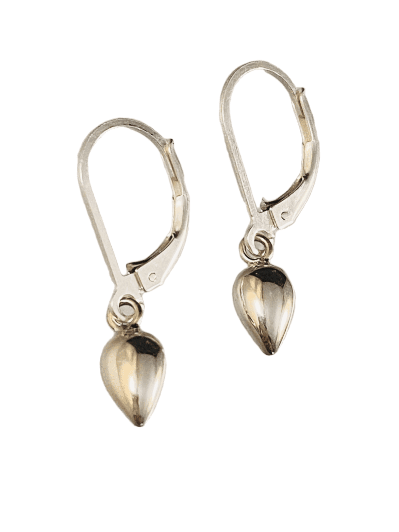 Sterling Small Pod Earrings