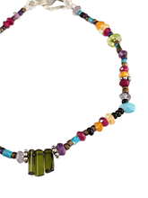 Chrome Diopside Triplet Beaded Gemstone Bracelet #2