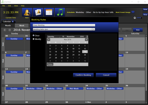 eCarillon Bell and Music Scheduling Software