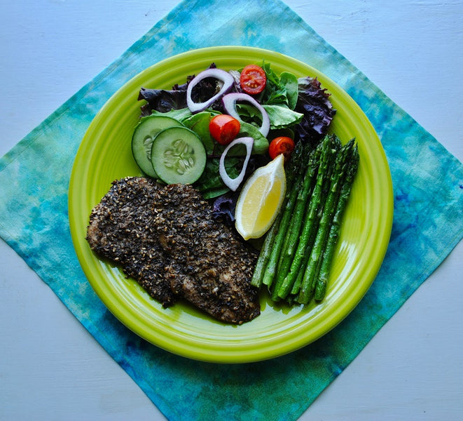 Za'atar Baked Chicken Breast