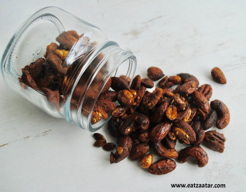Zaatar Spiced Nuts