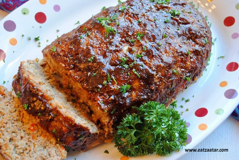 Zaatar Turkey Meatloaf-  ready to serve
