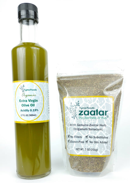 Zaatar and Olive Oil Pair