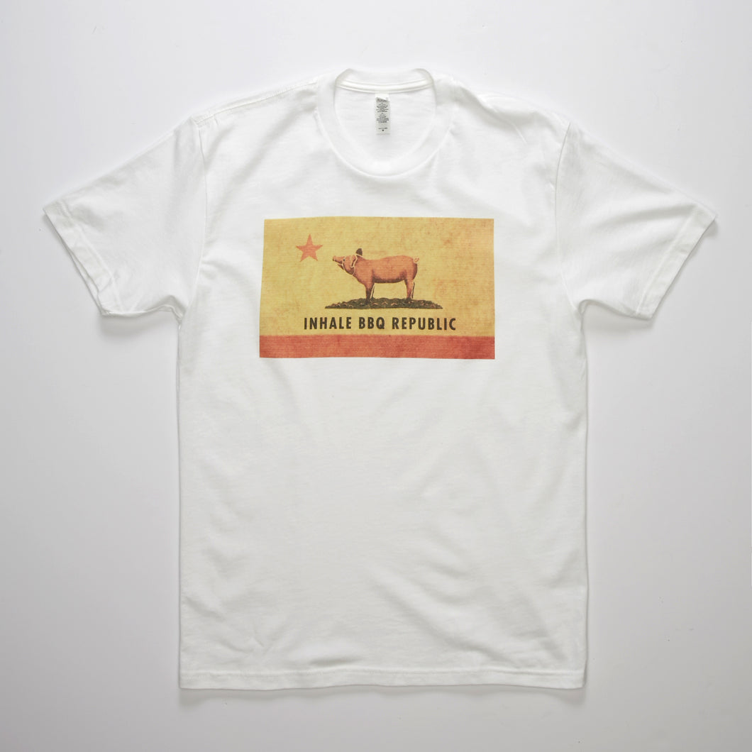 Inhale BBQ Republic T-shirt