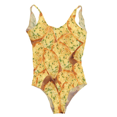 Garlic Bread One Piece Swimsuit