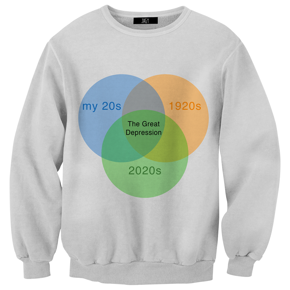The Great Depression Meme Sweatshirt