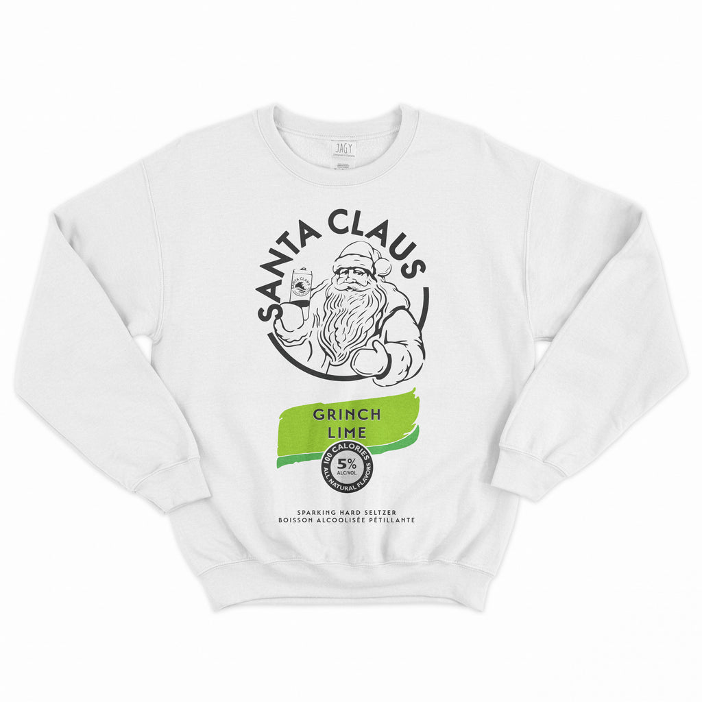 Santa Claus Grinch Lime Sweater