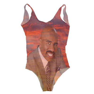 Steve Sunset One Piece Swimsuit