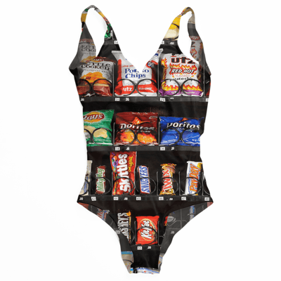 Vending Machine One Piece Swimsuit