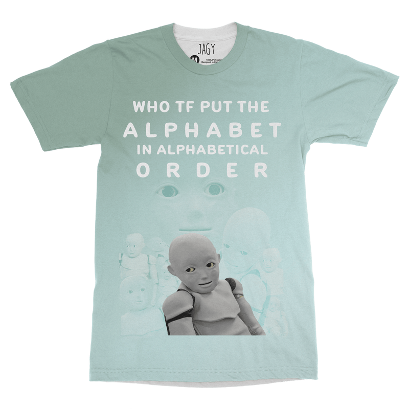 Alphabetical Order T-shirt