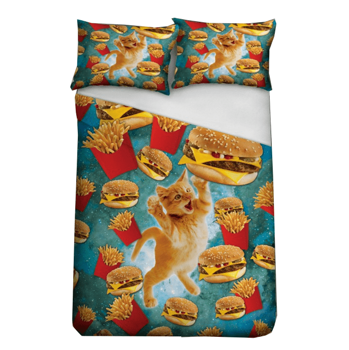 Bed Sets - Fast Food Cat