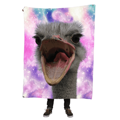 Blankets - Ostrich Throw Blanket