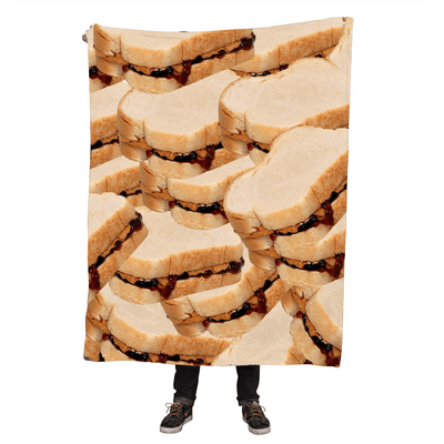 Blankets - PB & J Throw Blanket