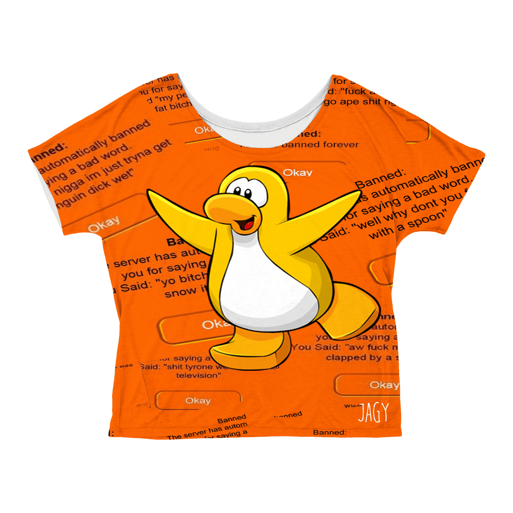 Crop Tops - Club Penguin Bans