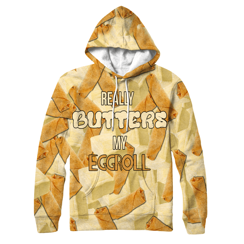 Evan Breen - Really Butters My Eggroll Hoodie