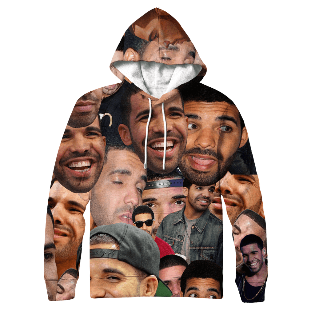 Hoodies - Drake Collage