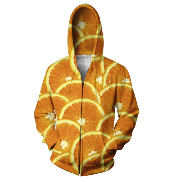 Hoodies - Orange Love