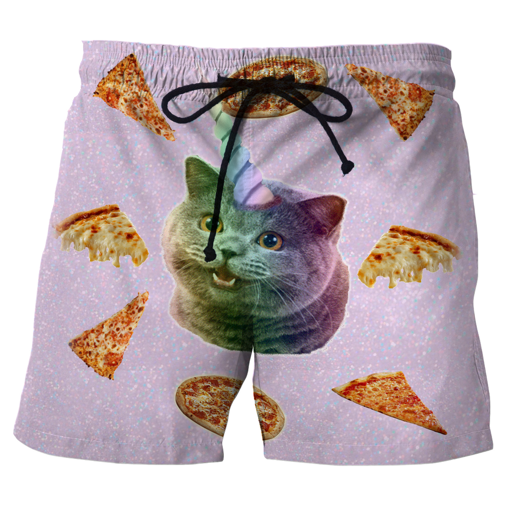 Pizza Kitty Shorts