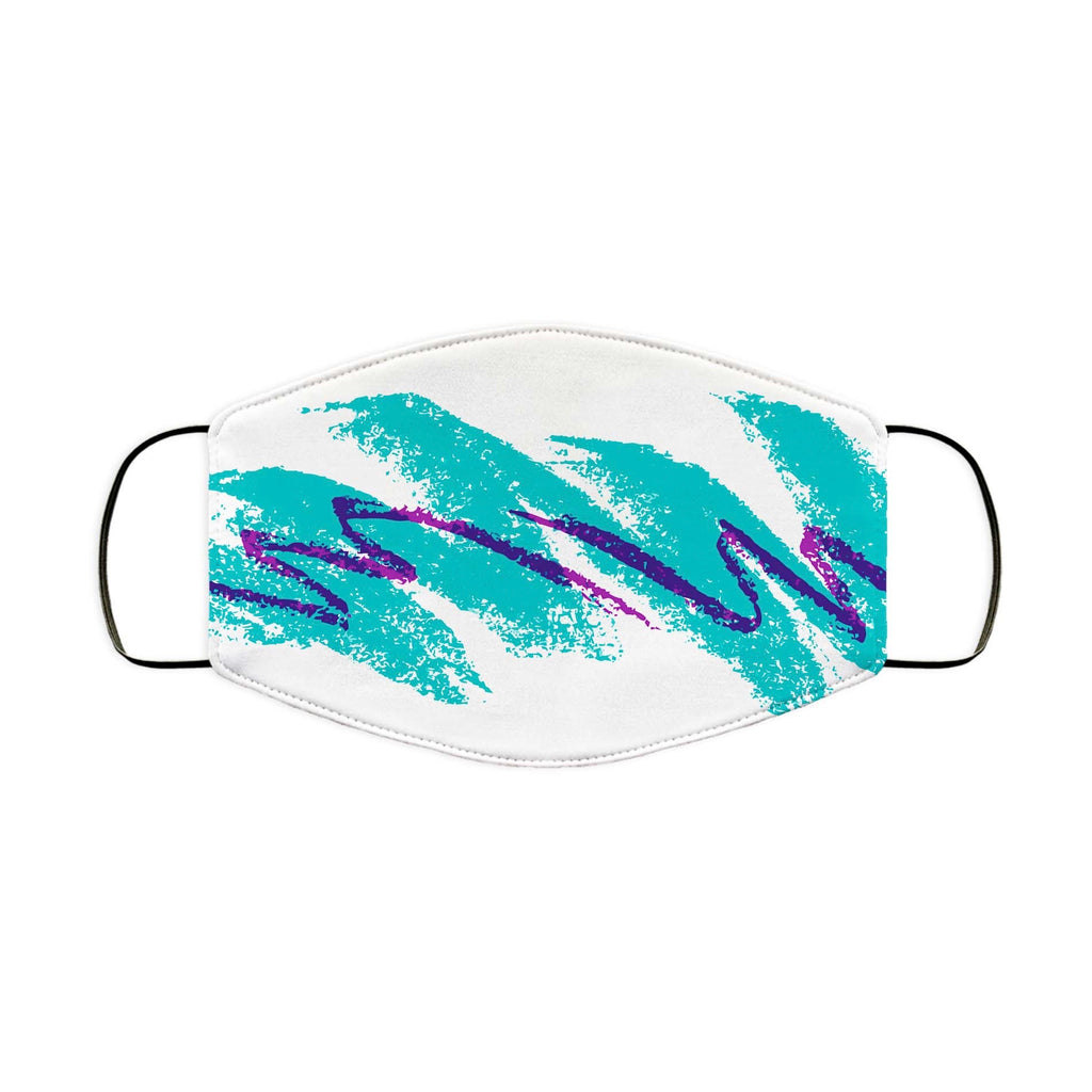 90s Jazz Wave Face Mask