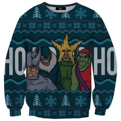 Me and the Boys Ugly Christmas Sweater Sweatshirt