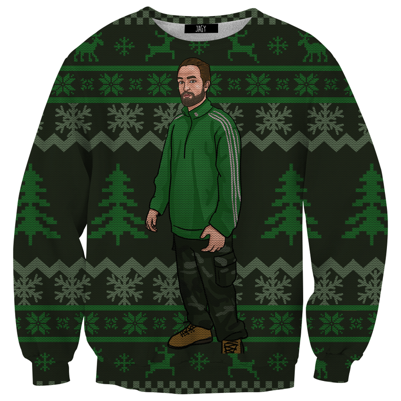 Awkward Robert Meme Ugly Christmas Sweater Sweatshirt