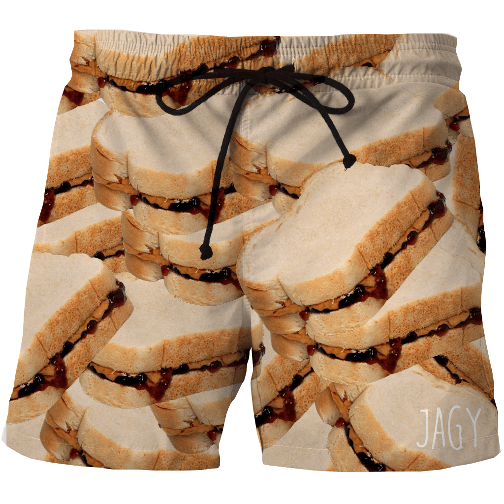 Shorts - Peanut And Jelly Sandwich Shorts