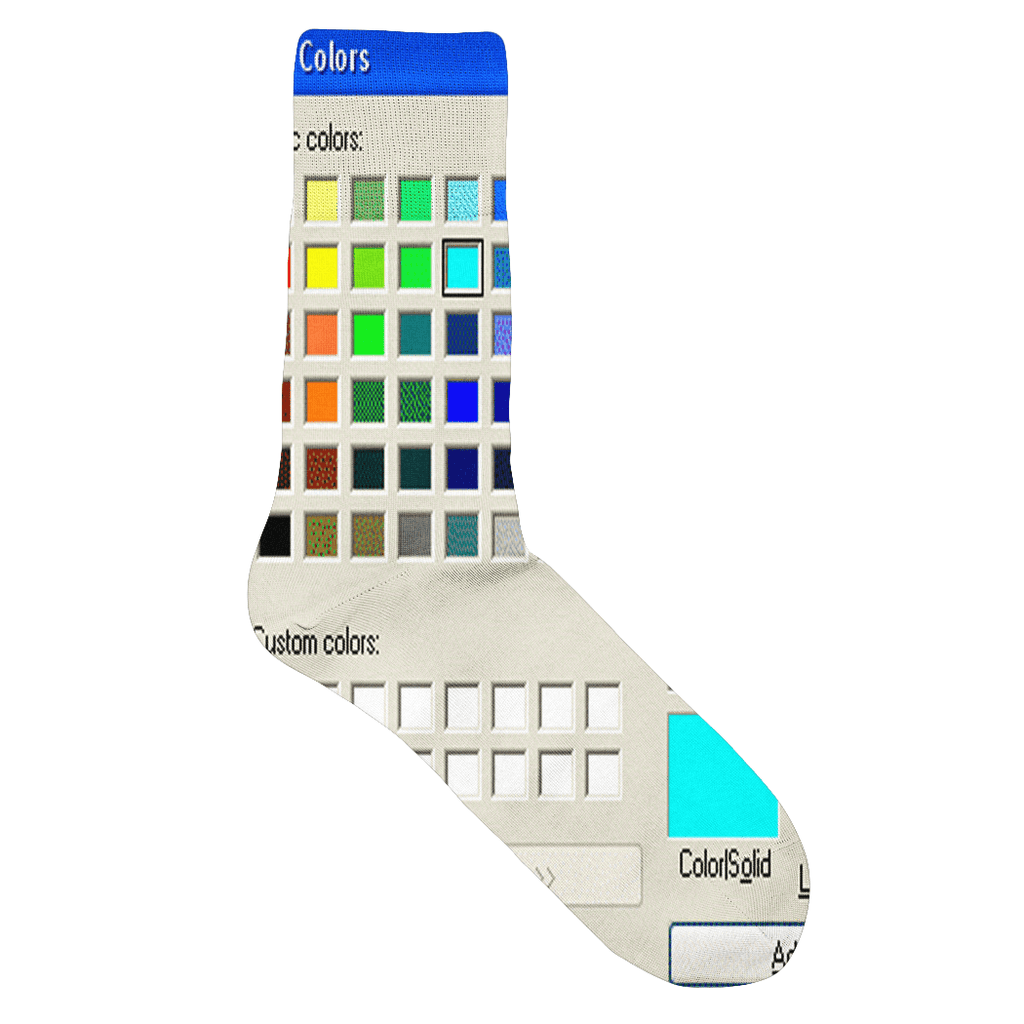 Socks - Windows Paint Socks