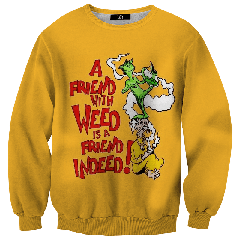 Sweater - A Good Weed Friend
