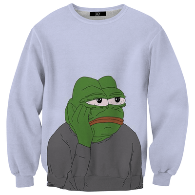 Sweater - Bored Pepe