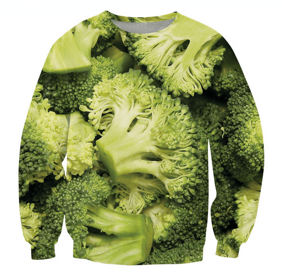 Sweater - Broccoli LOVE