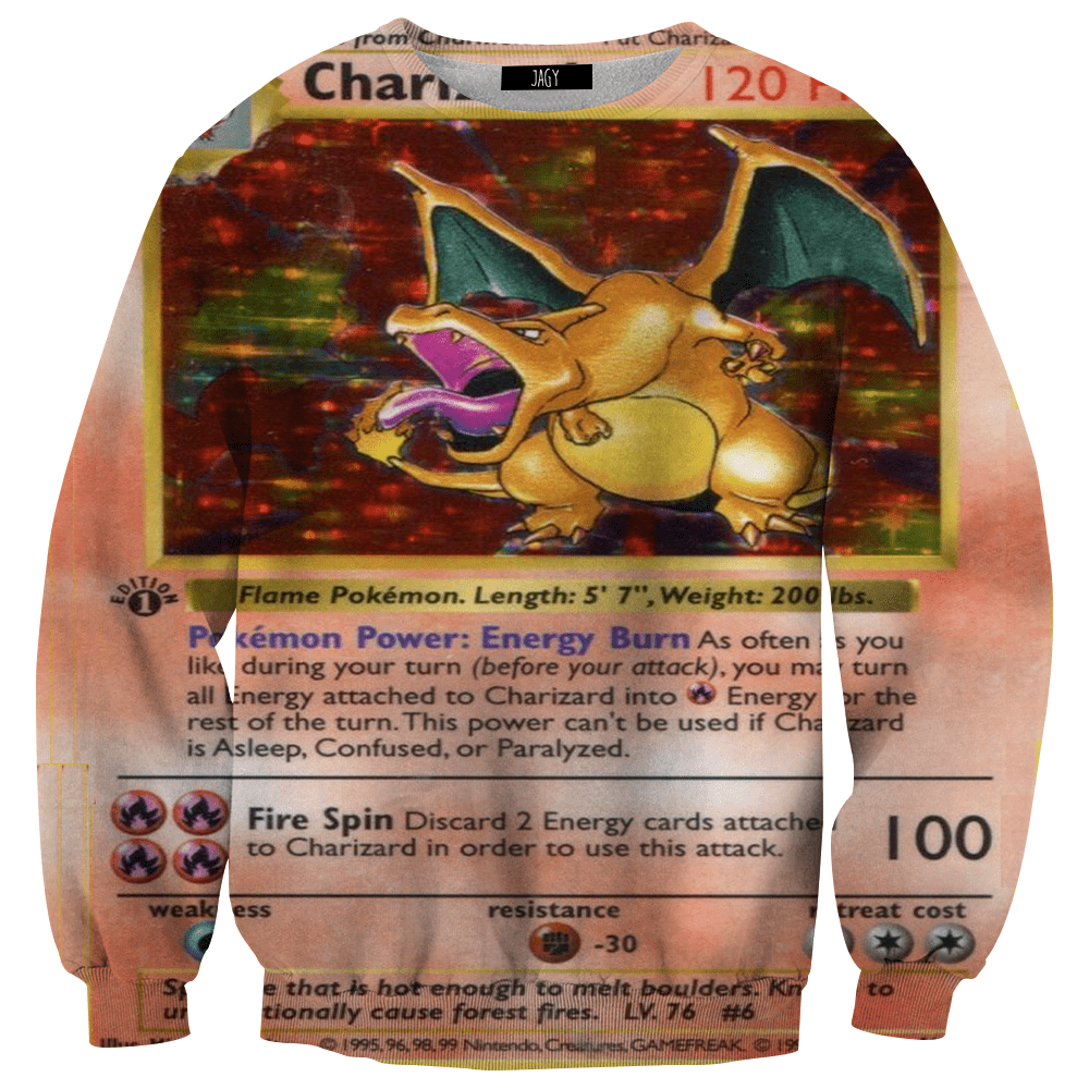 Sweater - Charizard Retro