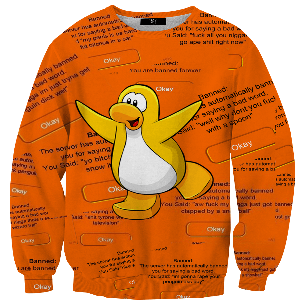 Sweater - Club Penguin Bans