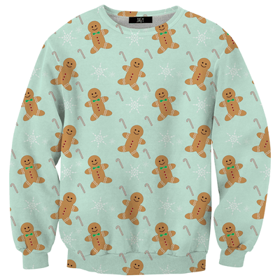 Sweater - Cute Ginger Bread Man