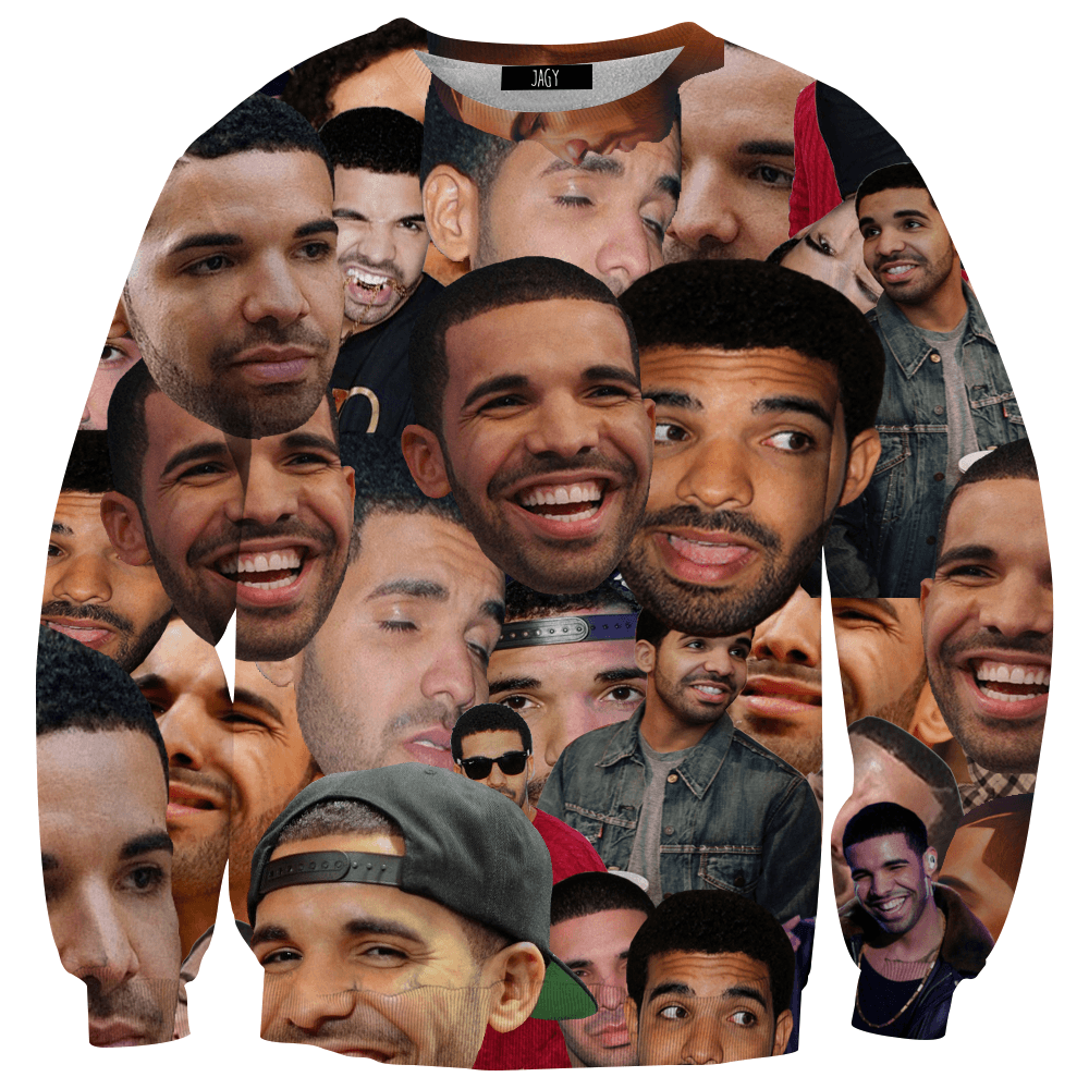 Sweater - Drake Collage
