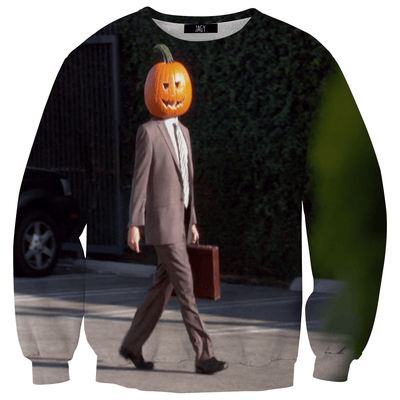 Sweater - Dwight With Pumpkin Head