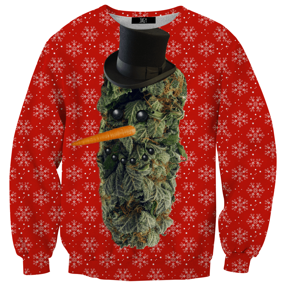 Sweater - Frosty The Kush Man