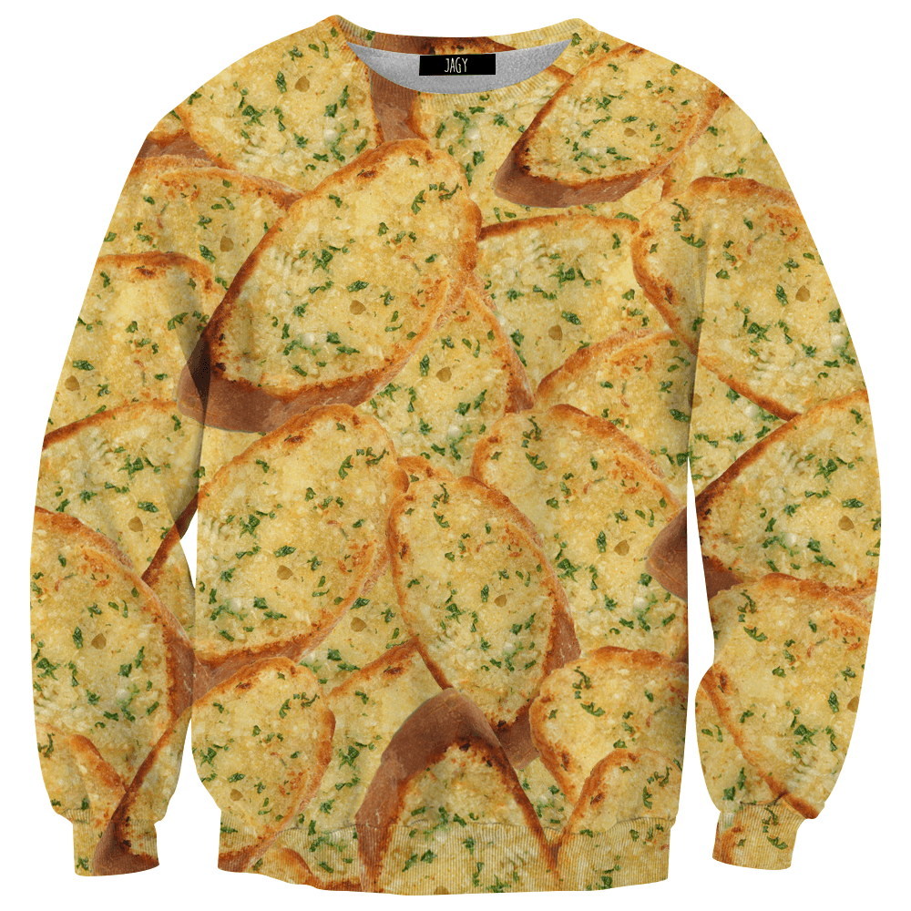 Sweater - Garlic Bread Sweatshirt