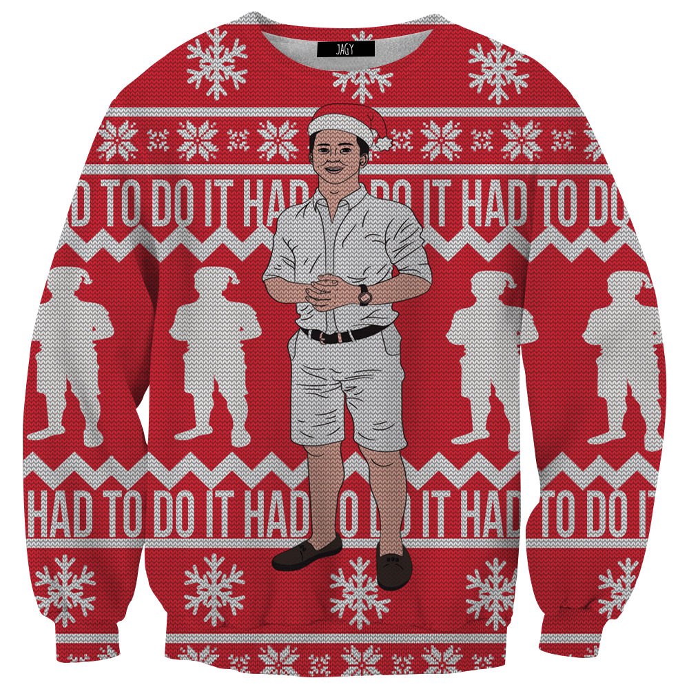 Sweater - Had To Do It To Em Christmas Sweater Sweatshirt