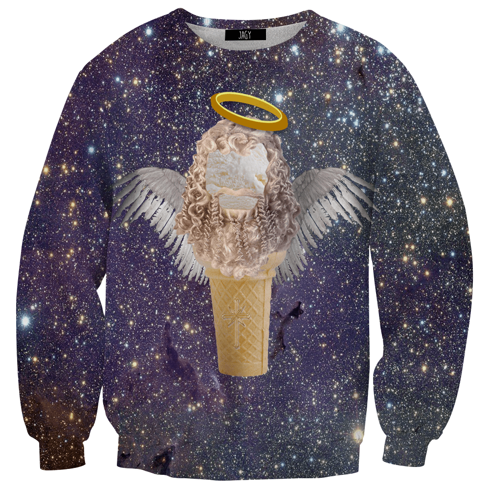 Sweater - Holy Ice Cream Cone